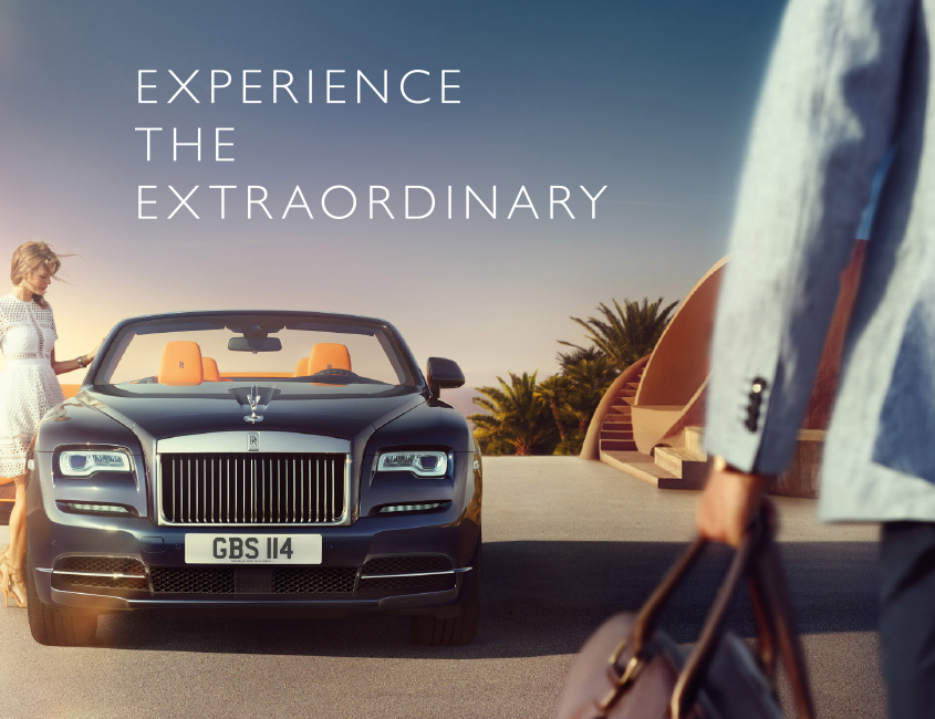 Rolls royce insignia advertising for Home decorators royce